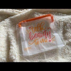 Ulta Beauty Translucent Makeup Bag